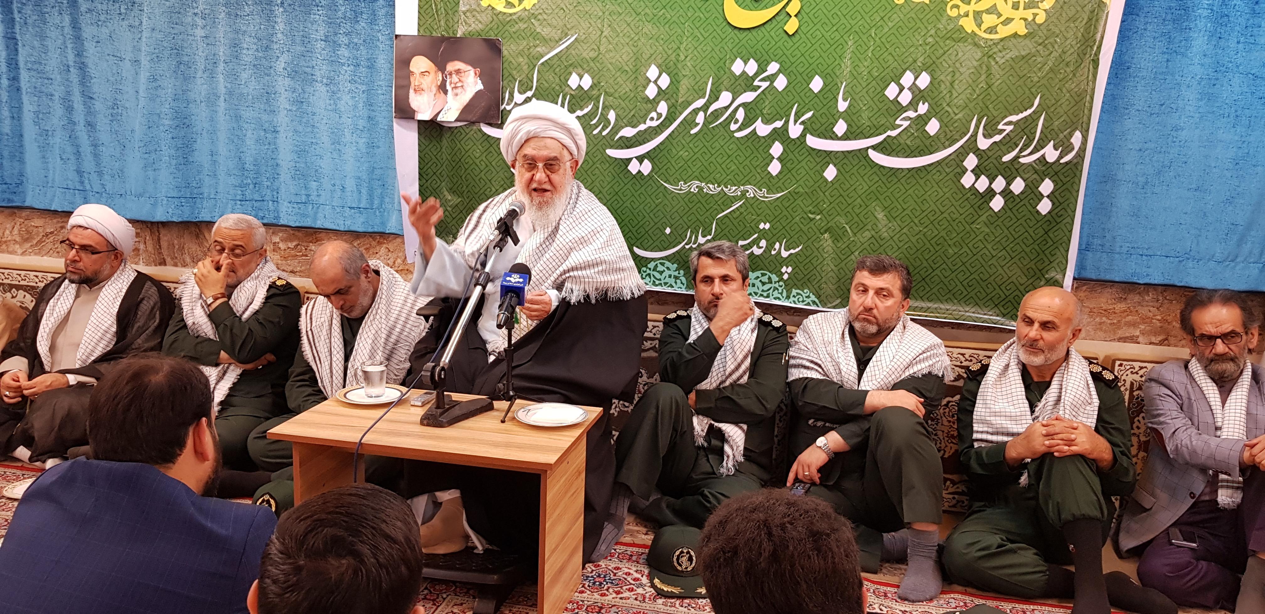 بسیجیان ادامه دهنده راه امیرالمؤمنین علی(ع) هستند/ورشکستگان سیاسی دنیای اسلام به دنبال رابطه با رژیم صهیونیستی هستند