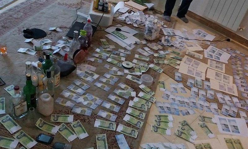 فروپاشی باند چاپ اسکناس در رشت!+عکس