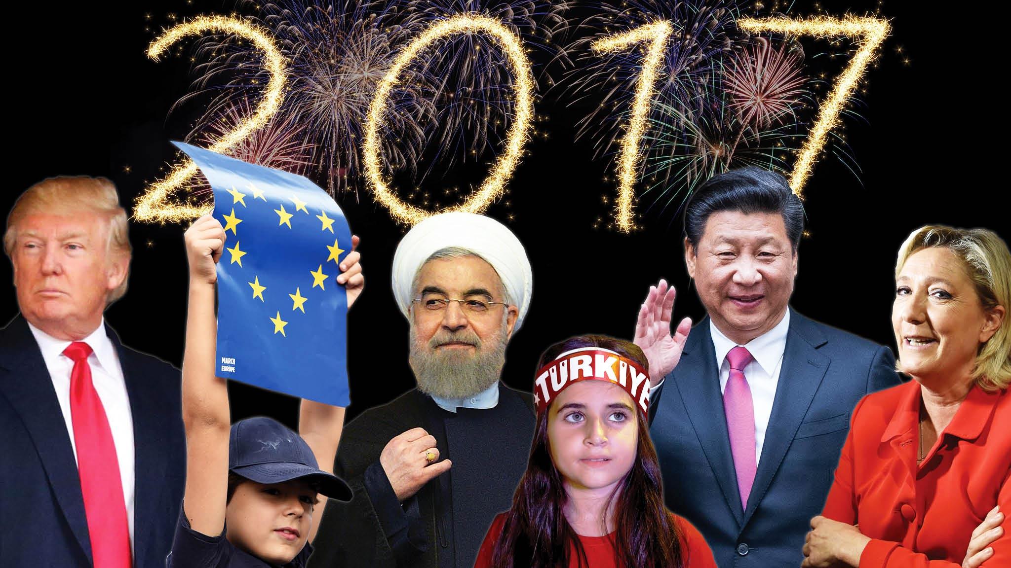 مهمترین رخدادهای جهان در سال ۲۰۱۷