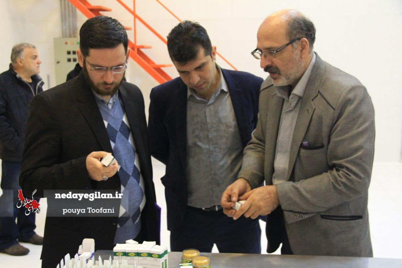 گزارش تصویری بازدید مهندس گل محمدی از ناحیه صنعتی کارگاهی شهرستان رشت