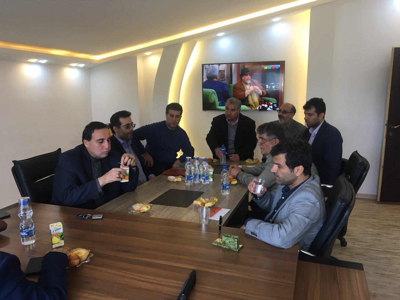 بازدید مدیرعامل بانک ملی استان گیلان از ناحیه کارگاهی رشت
