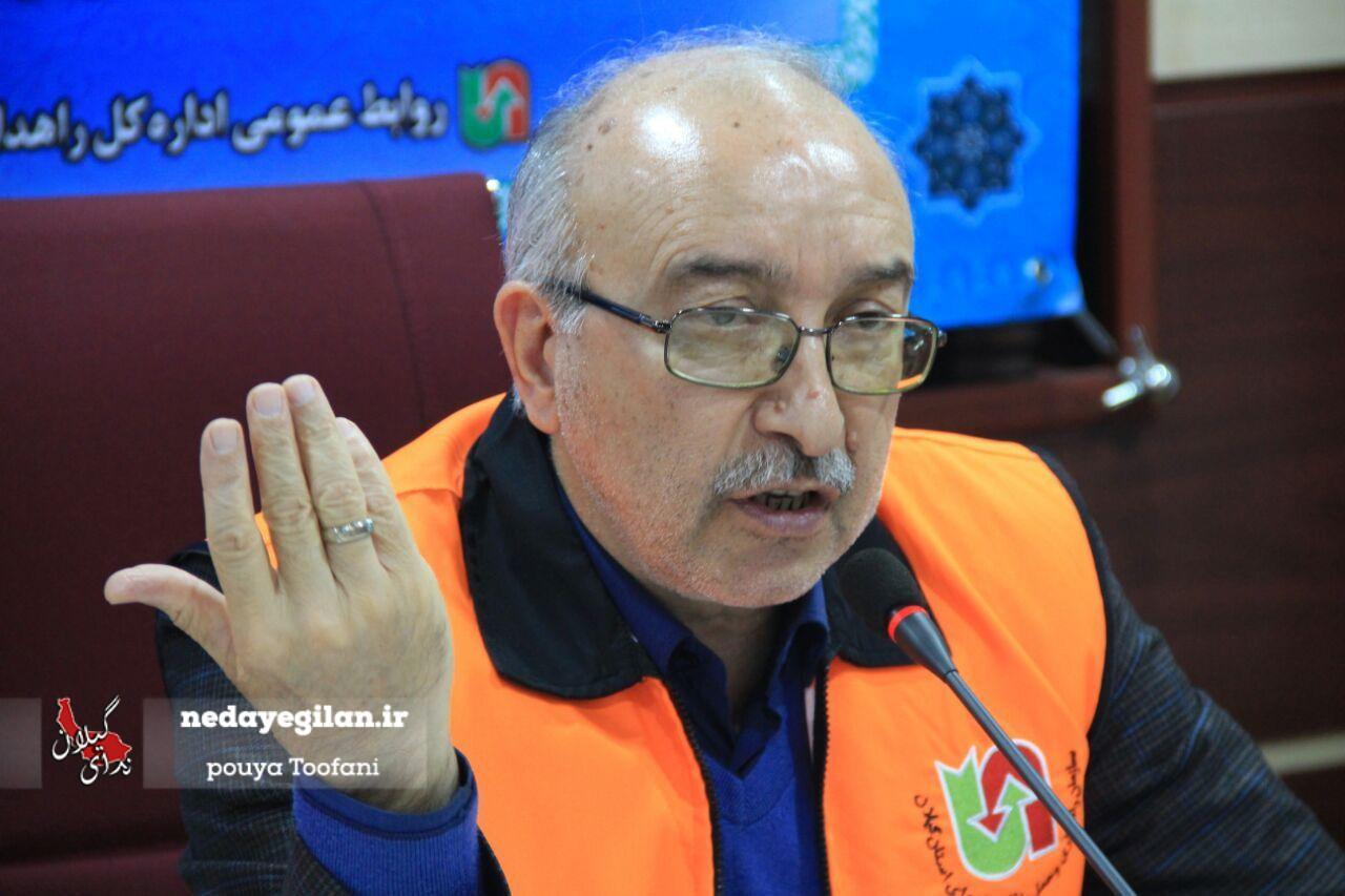 شناسایی 97 نقطه پر تصادف در جاده های استان گیلان/بیش از ۲۱۴ کیلومتر از راههای روستایی گیلان آسفالت می شود
