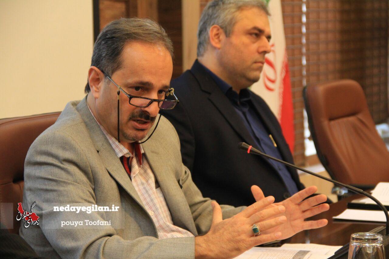 گزارش تصویری نشست خبری رئیس سازمان مدیریت و برنامه ریزی گیلان