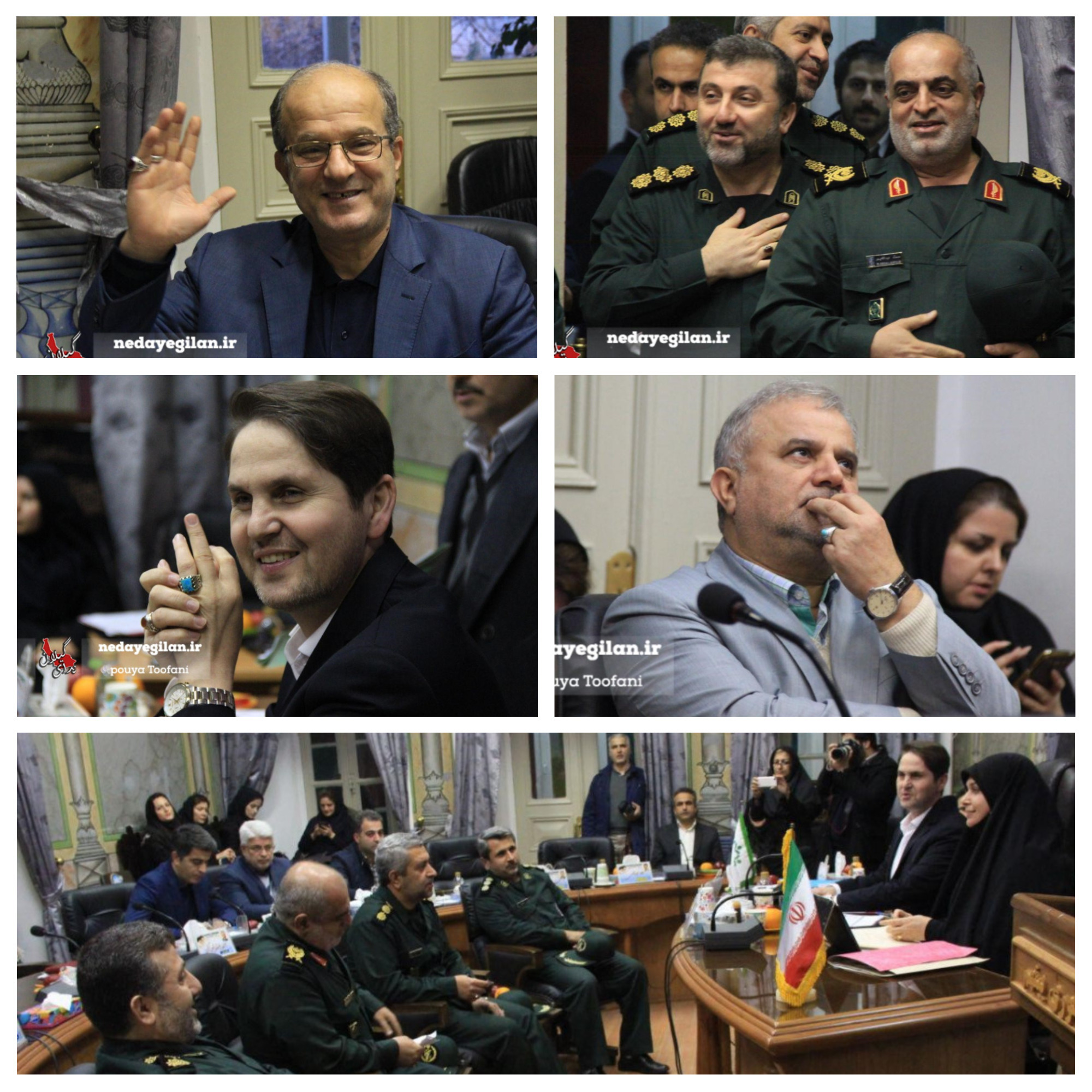 گزارش تصویری جلسه شورای شهر رشت