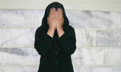 دستگیری دختر 15 ساله زورگیر در دهدشت!