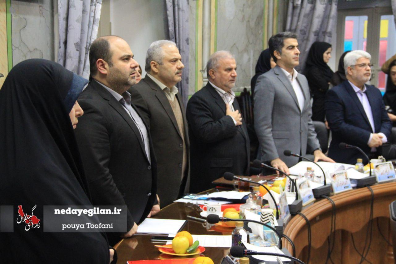 گزارش تصویری بیست و چهارمین جلسه شورای شهر رشت