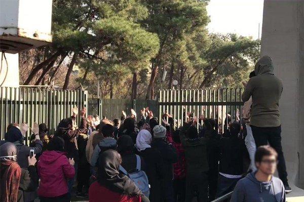 دانشجویان بازداشتی در حوادث اخیر آزاد شدند