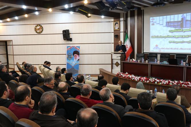 مراسم اختتامیه ارزیابی سرآمدی و بهبود مستمر صنعت نفت گیلان برگزار شد
