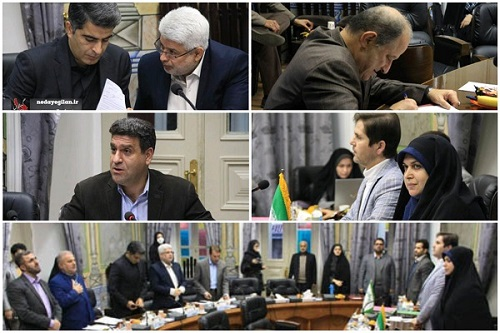 بیست و هشتمین جلسه شورای شهر رشت برگزار شد+گزارش تصویری