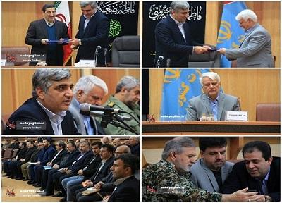 گزارش تصویری مراسم معارفه معاون جدید سیاسی و امنیتی استانداری گیلان