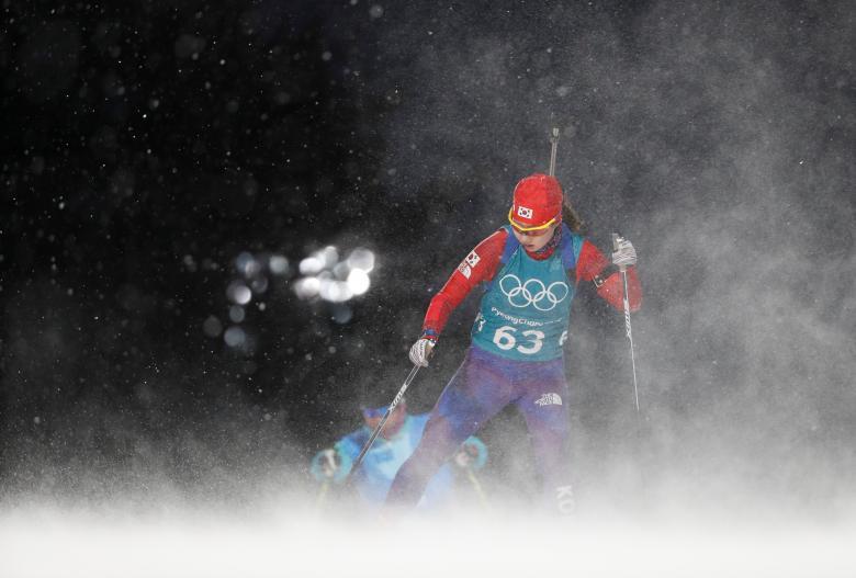 گزارش تصویری صحنه های دیدنی بازیهای المپیک زمستانی ۲۰۱۸