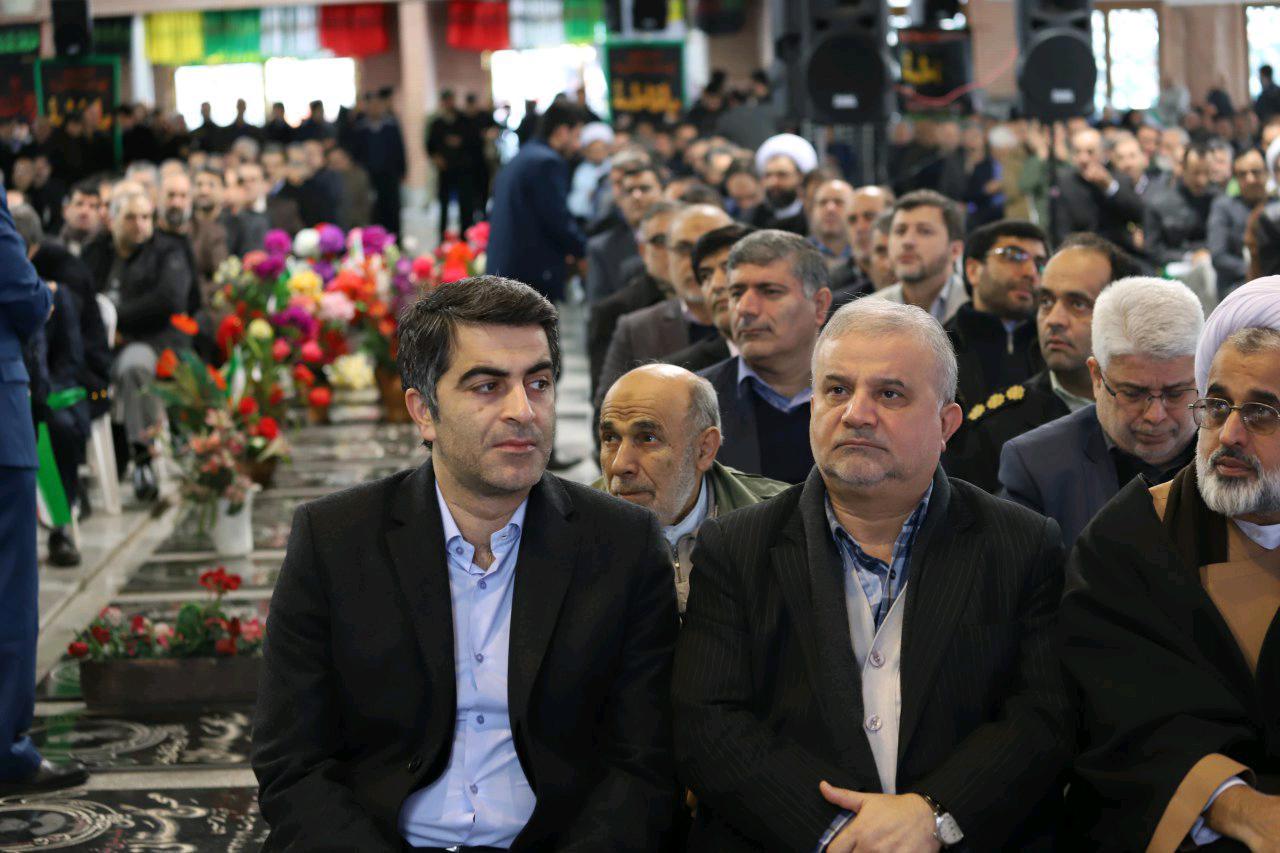 تجدید میثاق اعضای شورای شهر رشت با امام راحل و شهدا