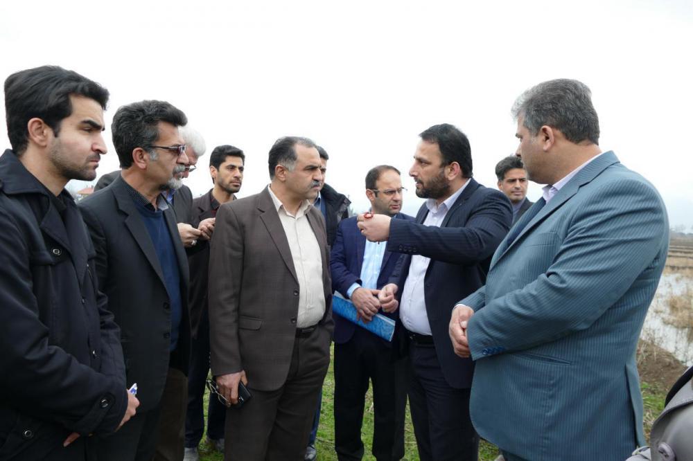 تسریع در روند احداث تصفیه خانه شهرستان ماسال