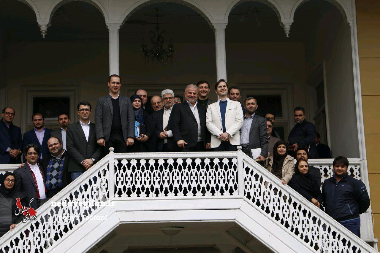 گزارش تصویری حضور مسئولان  محیط زیست در جلسه شورای شهر رشت