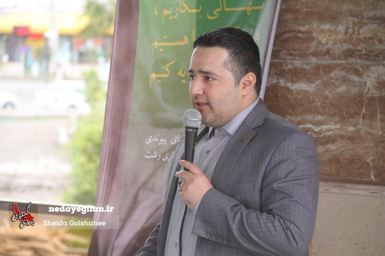 کاشت نهال ایثار توسط خانواده های اهداکنندگان عضو در لنگرود