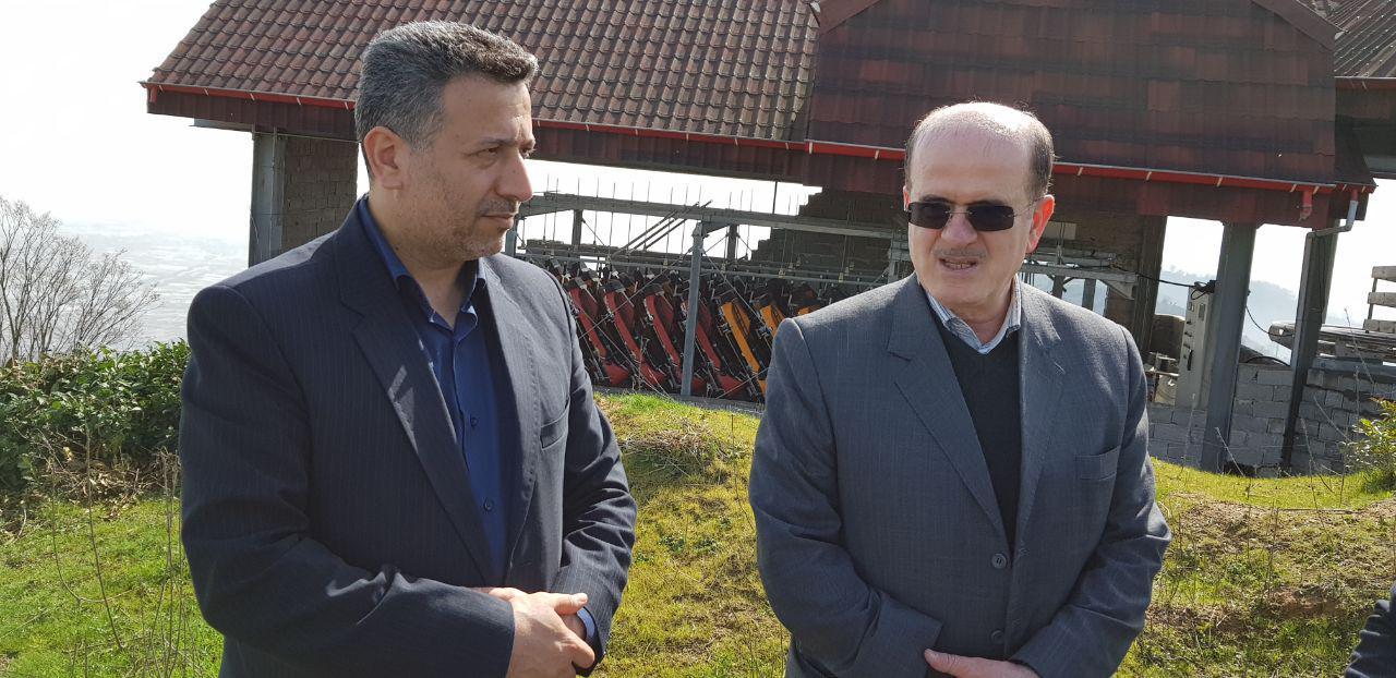 بهره برداری از تله کابین لنگرود در سال 97/رایزنی برای احداث فرودگاه گردشگری در شهرستان
