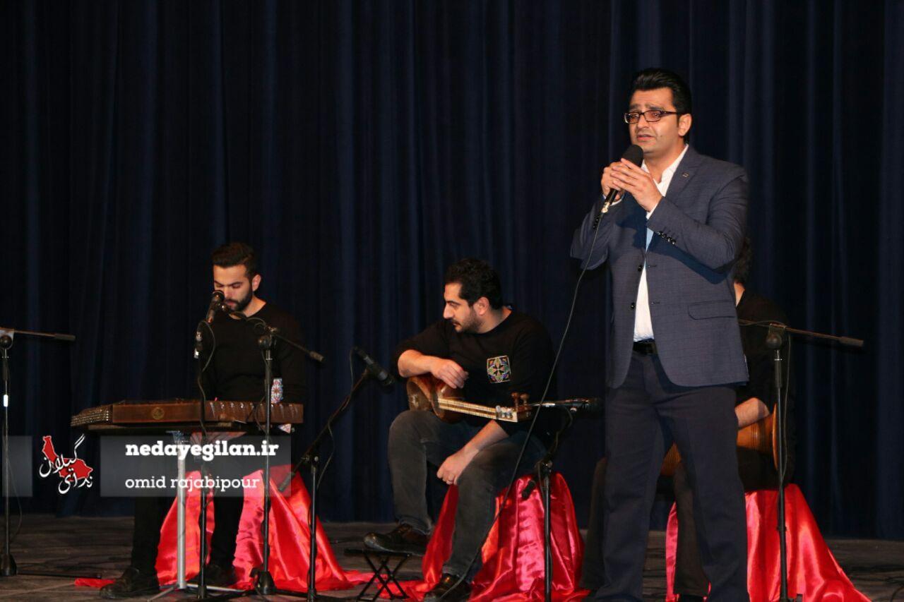 گزارش تصویری کنسرت گروه موسیقی آرشیدا در رودسر