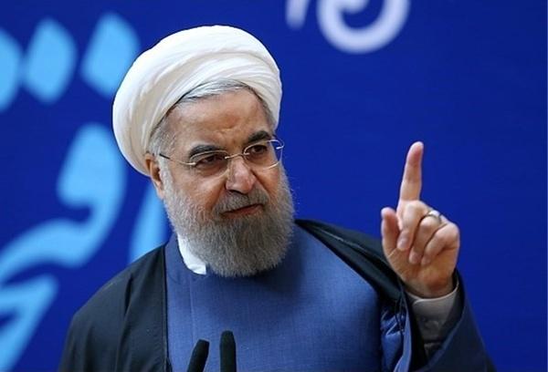 روحانی:کمبود آب داریم ولی دلار نه/فیلم