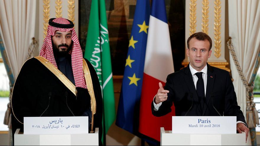 ولیعهد سعودی: عربستان در حمله بر ضد بشار اسد مشارکت خواهد کرد|مکرون:درباره مقابله با توسعه طلبی ایران با عربستان هم نظر هستیم