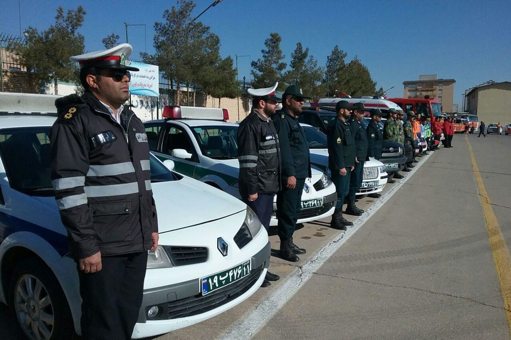 افتتاح اولین پاسگاه پلیس راه روستایی کشور در لاهیجان