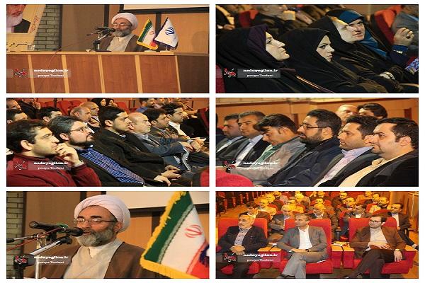 گزارش تصویری دیدار نماینده ولی فقیه در گیلان با جمعی از اصحاب رسانه استان