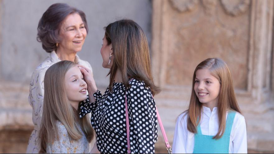 فیلم:دعوای ملکه اسپانیا با مادرشوهرش !