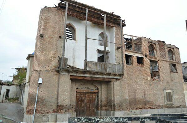 عامل آتش سوزي خانه تاريخي در لنگرود دستگیر شد