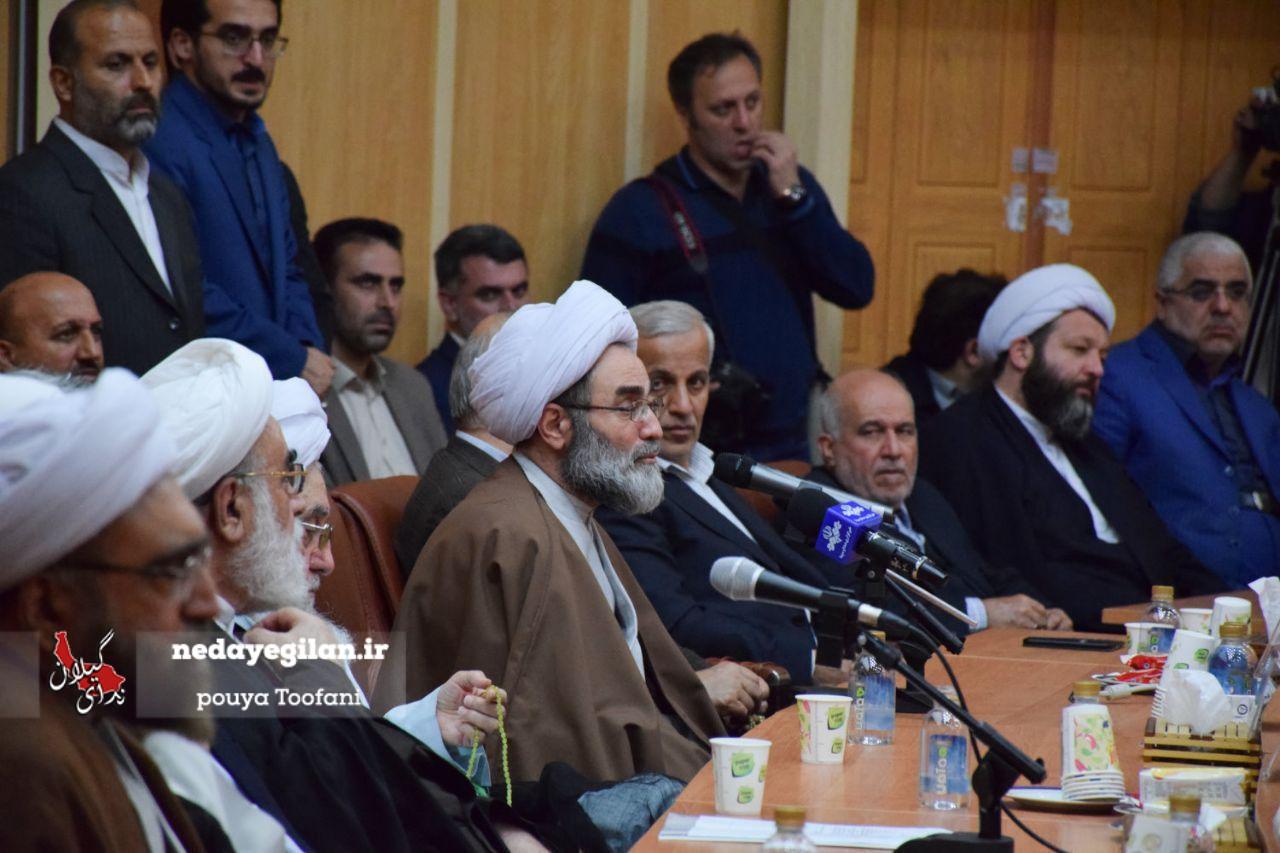 گزارش تصویری مراسم تکریم و معارفه نماینده سابق و جدید ولی فقیه در گیلان