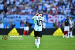گزارش تصویری دیدار تیم های آرژانتین و فرانسه