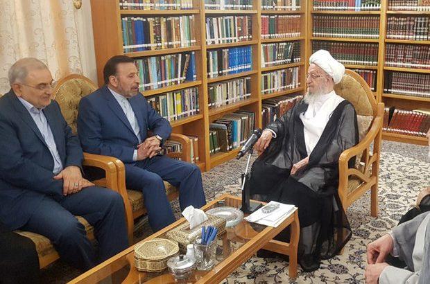 در سفر رئیس دفتر روحانی به قم چه گذشت؟/آیت الله کریمی:کمک به رئیسجمهوری از نماز و روزه واجبتر است