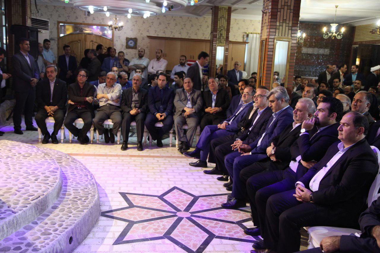 گزارش تصویری نشست حامیان ستاد روحانی در گیلان
