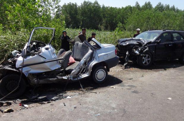 وقوع 148 تصادف در جاده های گیلان/هفت نفر کشته شدند