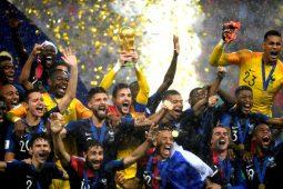 زیباترین تصاویر فینال جام جهانی 2018 روسیه/گزارش تصویری