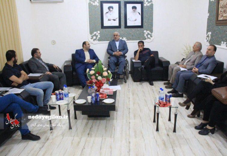 گزارش تصویری جلسه هیئت رئیسه هیات کاراته استان گیلان