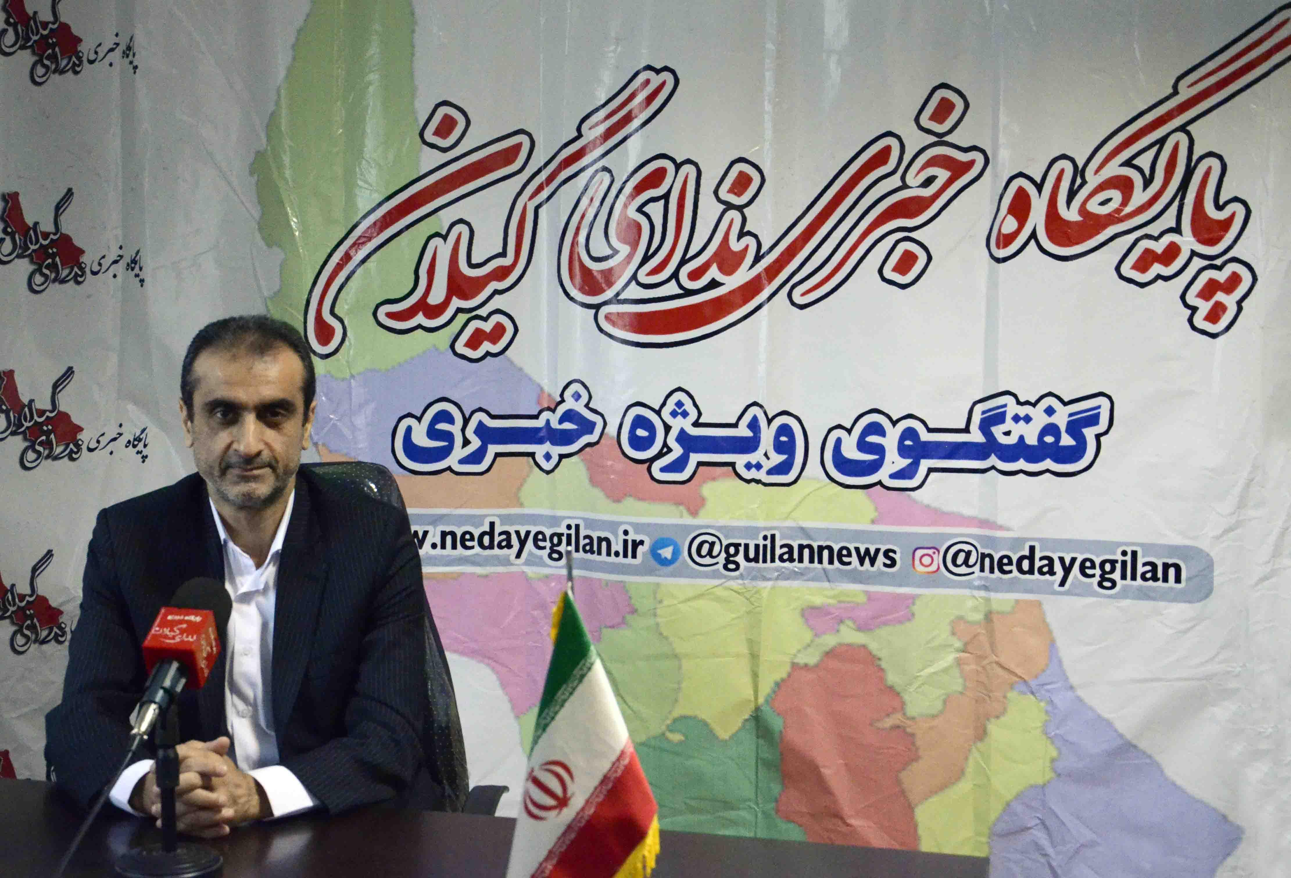 سید محمد احمدی به استانداری گیلان بازگشت