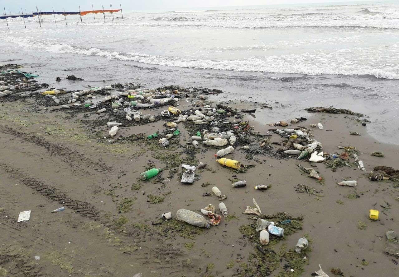 بیشترین زباله پلاستیکی از سواحل ایران وارد دریای خزر میشود