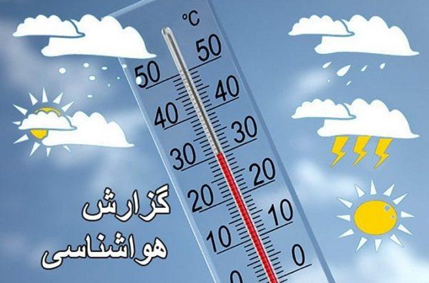 وزش بادهای جنوبی از اواخر وقت امروز در استان/افزایش دمای هوا تا روز دوشنبه