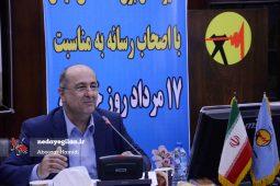 گزارش تصویری نشست خبری مدیر عامل برق منطقه ای گیلان