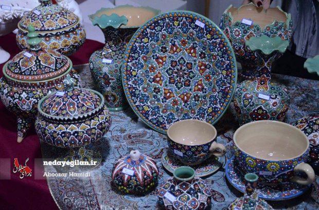 صنایع دستی ۴ روستا و یک شهر گیلان ثبت ملی شد