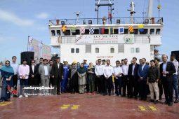 گزارش تصویری رونمایی از کشتی های منقوش به فوک خزری در انزلی