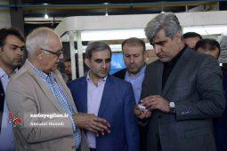 گزارش تصویری افتتاح کارخانه صنایع روشنایی خزرشید در رشت