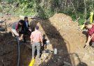 گاز مشترکین روستاهای حیدرآلات و فوشه فومن وصل شد
