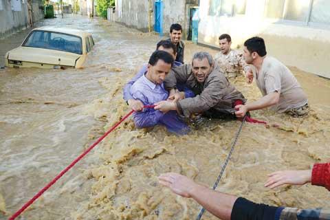 امدادرسانی به 2419 نفر در استان گیلان