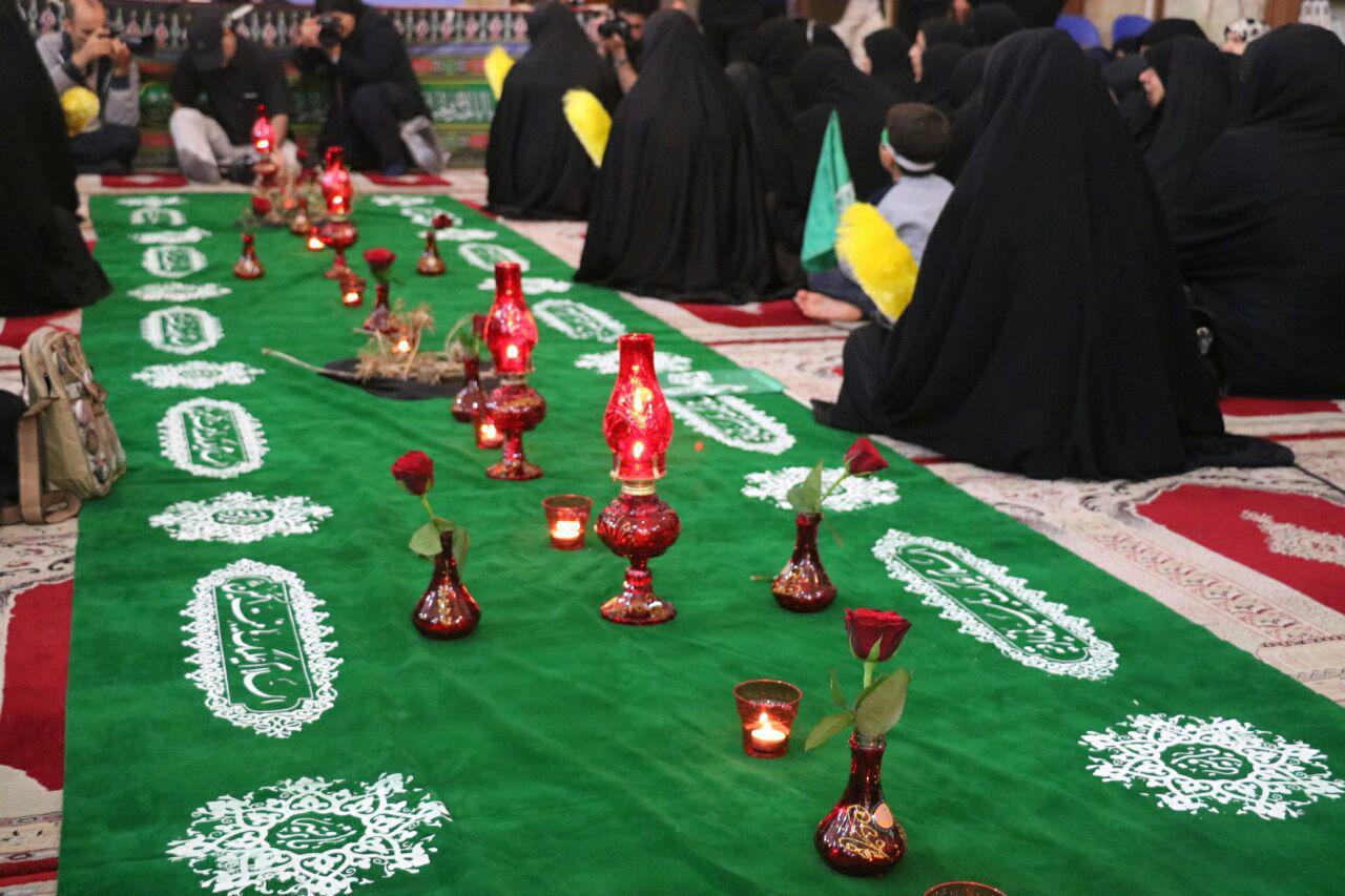 گزارش تصویری مراسم شهادت حضرت رقیه