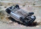 وزش باد شدید در گیلان موجب واژگونی چندین خودرو شد