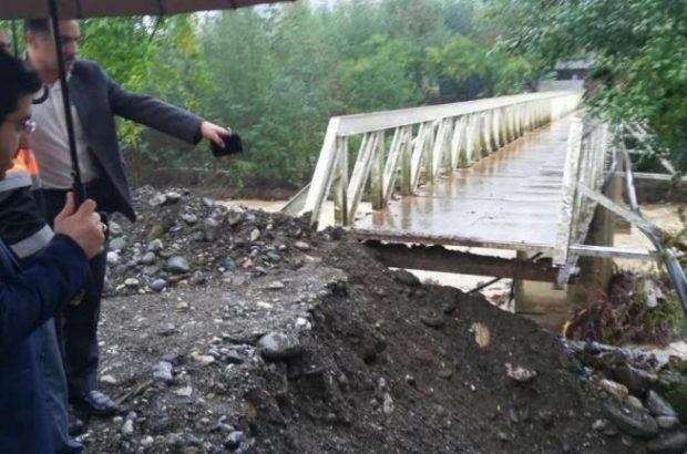 تخریب سد بتونی روستای خالکایی ماسال/ بسته شدن راه چند روستا