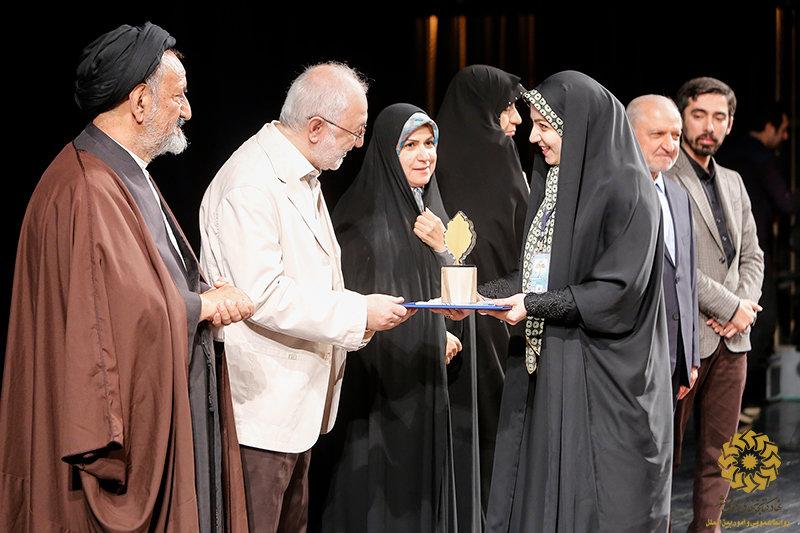 درخشش کتابخانه عمومی مشارکتی بنت الهدی فومن در کشور