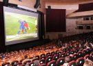زنان در دنیا به استادیوم میروند در ایران به سینما