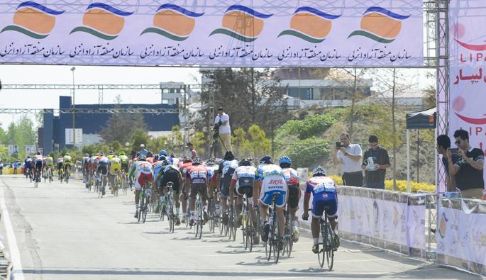 منطقه آزاد انزلی میزبان دومین تور دوچرخه سواری جایزه بزرگ قهرمانی کشور«جام کاسپین»