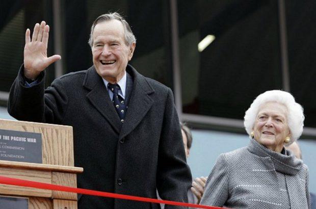 بوشِ پدر درگذشت